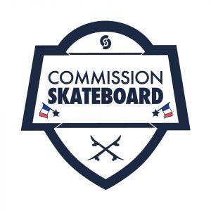 partenaires Commission skateboard logo