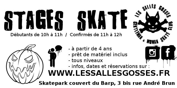 stage skate vacances